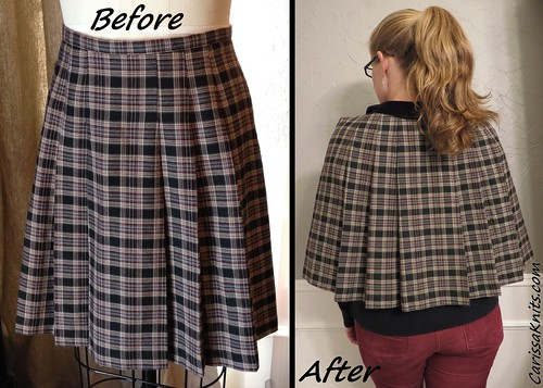 Sherlock Capelet - Before & After