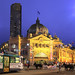 Melbourne Flinders Street station by Kenny Teo (zoompict)