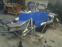 Bobby Haynes Jr supermodified rear