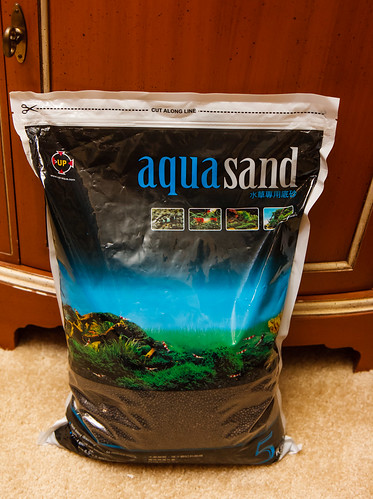New bag of UpAqua Aquasand Substrate - 5 kg size