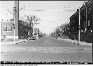 Dufferin Street, looking north from College Street