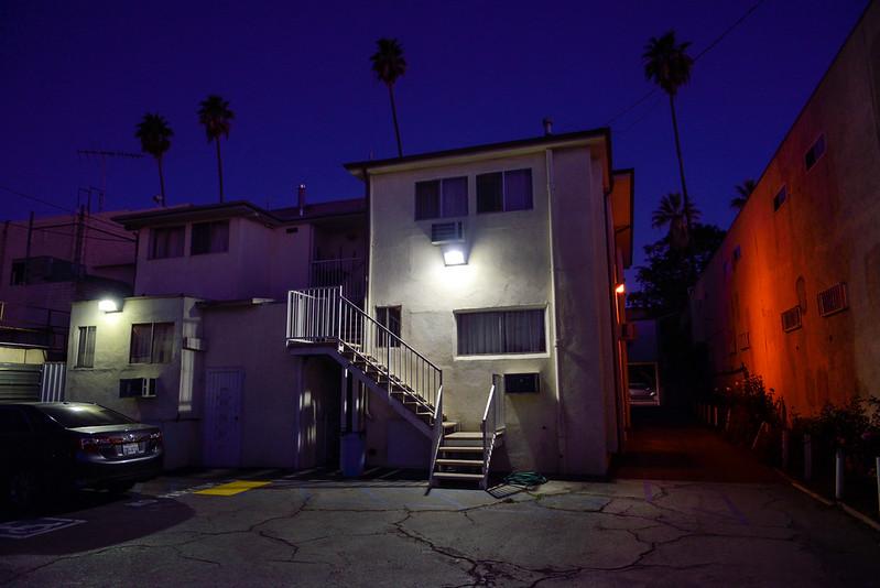 【Budget Inn Hollywood】凌晨的樣子