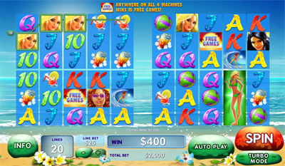 Sunset Beach slot game online review