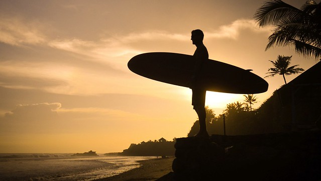 Bali pondok pitaya surfer