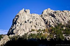 Impresionantes paredes de granito