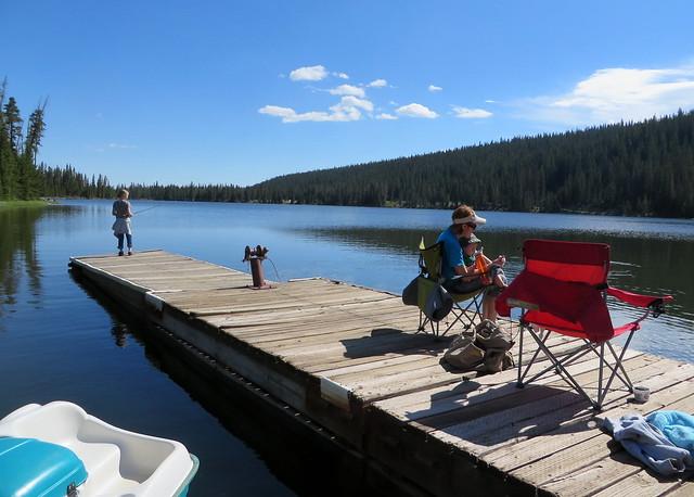 Family Trip to Spirit Lake Lodge 018