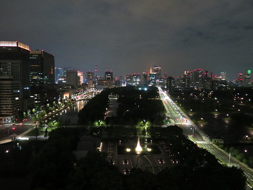 View from the Palace Hotel, Tokyo