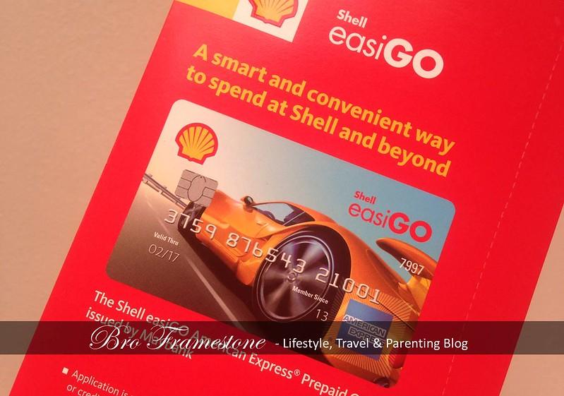 Starter Pack Shell easiGO American Express Prepaid Card.