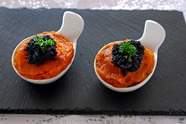 Pumpkin appetizer