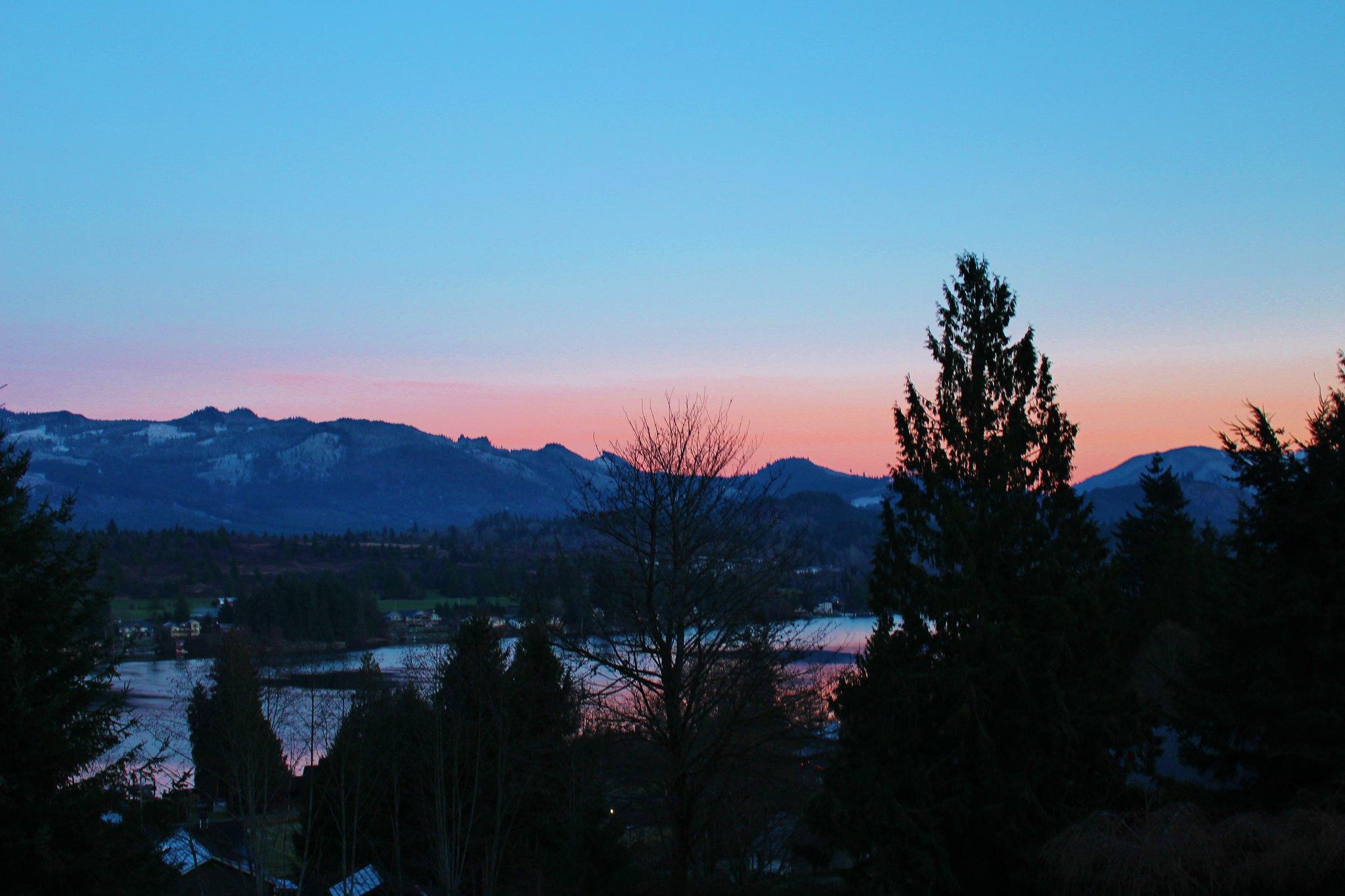 Washington sunset