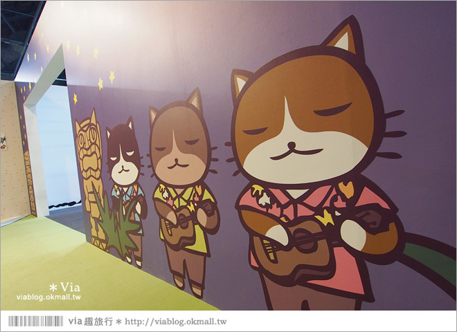 【阿朗基愛旅行】台北華山藝文特區阿朗基展~跟著阿朗基一起環遊世界去!38