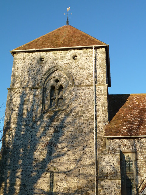 Saxon Church (Berwick to Berling Gap)