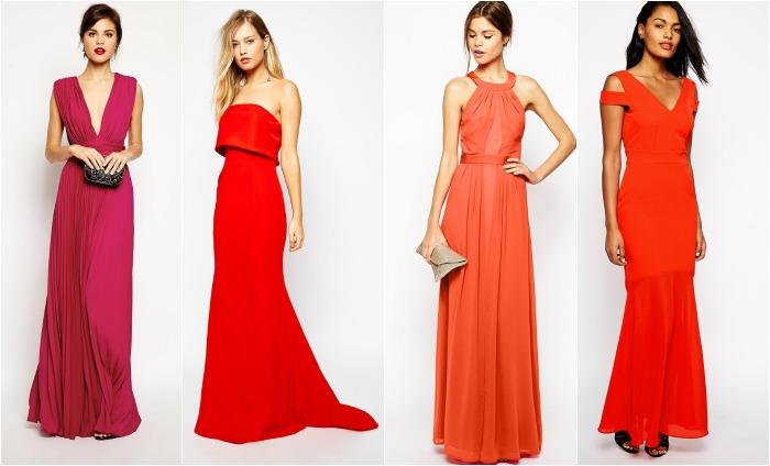 vestidos coral boda