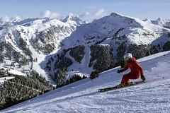 Obereggen: na lyžích od rána do večera