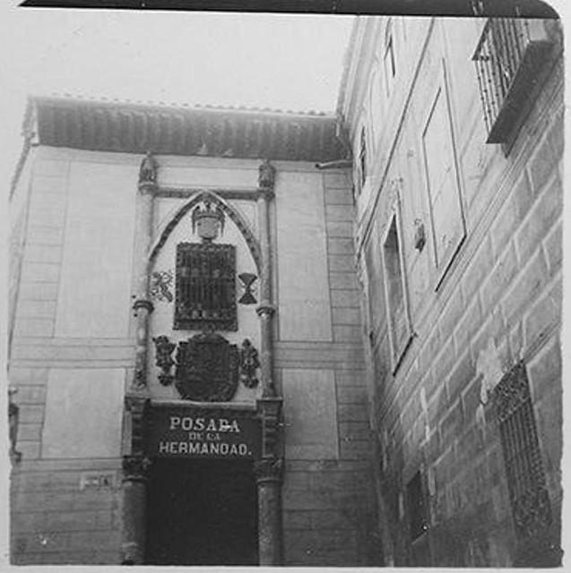 Posada de la Hermandad en 1900. Fotografía de Augusto T. Arcimis © Fototeca del IPCE, MECD. Signatura ARC-0699_P
