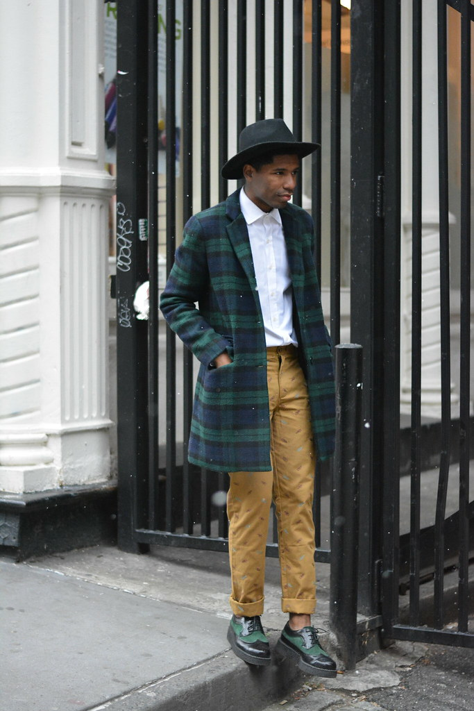 Tartan Coat - Style Society Guy