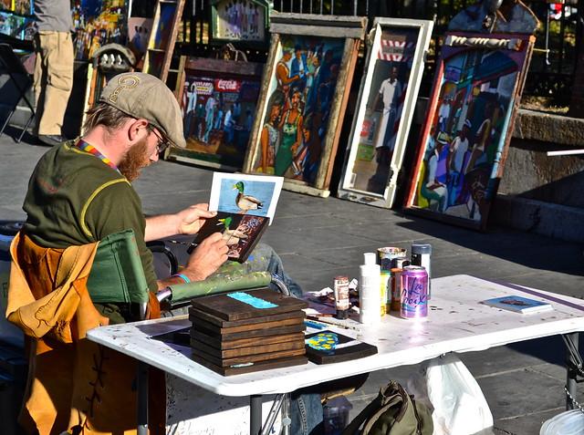 jackson square - artists