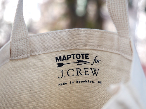Maptote for J.Crew / SOHO Bag