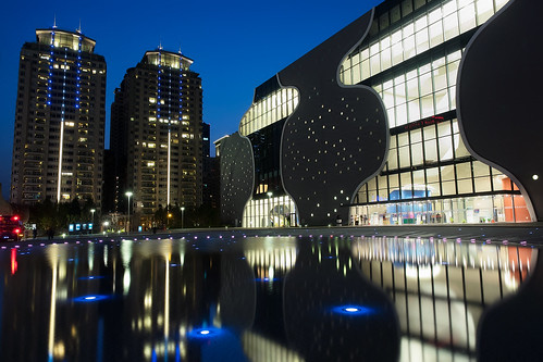 longexposure night reflections landscape nightscape taiwan olympus taichung bluehour operahouse 夜景 magichour 台中 em1 國家歌劇院 1240mmf28 nationaltaichungtheater