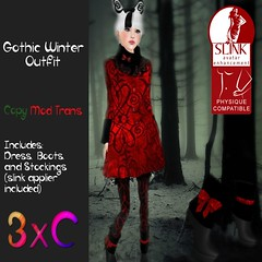 Gothic Winter Outfit Vendor