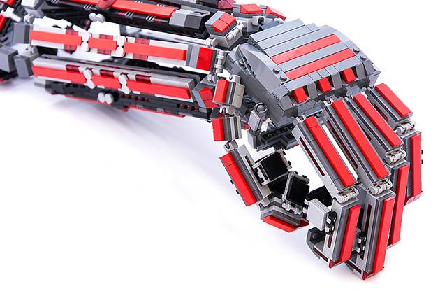這就是樂高式防禦術!玩家利用樂高打造出強化外骨骼!!!