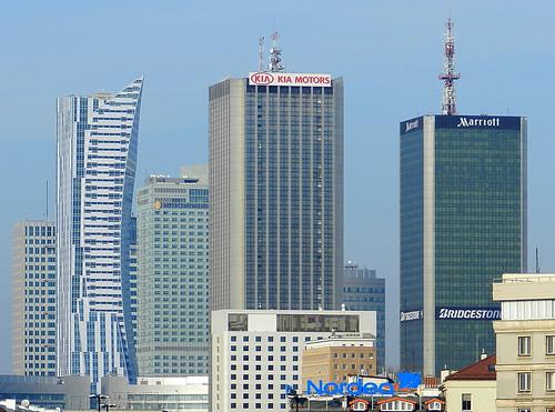 Warszawskie wieżowce / Warsaw skyscrapers