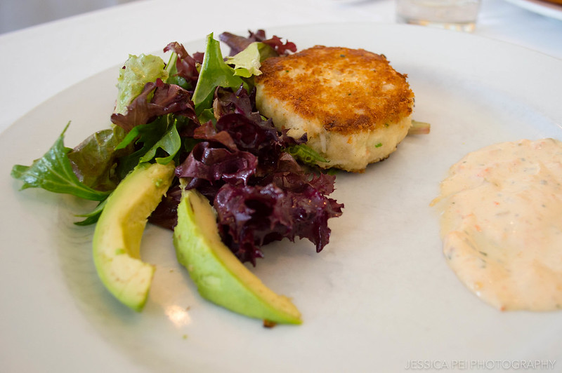 Hattie's Crab Cake Salad