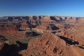 Dead Horse Point, just outside Canyonlands National Park
