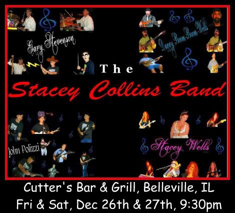 Stacey Collins Band 12-26,12-27-14