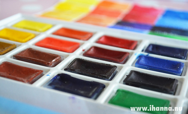 New White Nights Watercolors -  ready to use! by iHanna