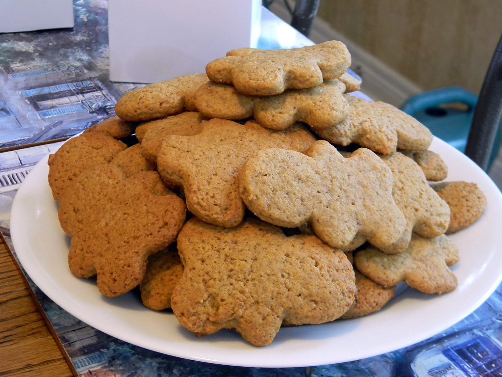 Butterscotch Ginger Cookies