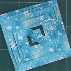 วิธีทำดาวกระดาษรุปเกล็ดหิมะ สำหรับแต่งบ้าน ช่วงเทศกาลต่างๆ (Paper Snowflake DIY) 008