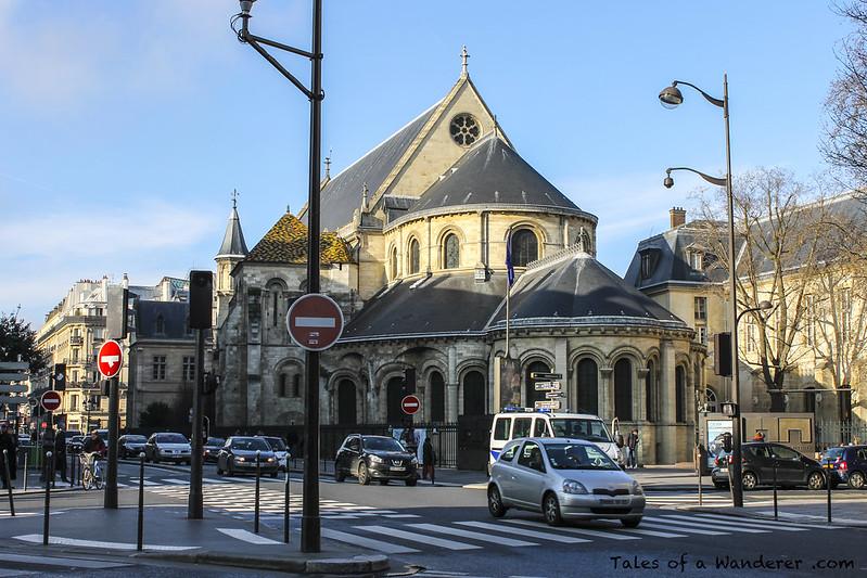 PARIS - Prieuré Saint-Martin-des-Champs