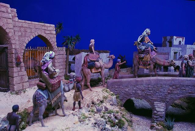 Ya se acercan Los tres Reyes Magos.