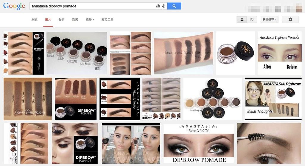 anastasia dipbrow pomade-google