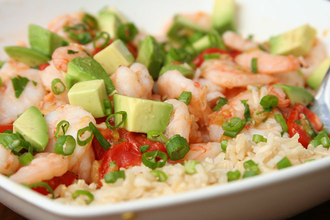 shrimp tomatoes avocado 1