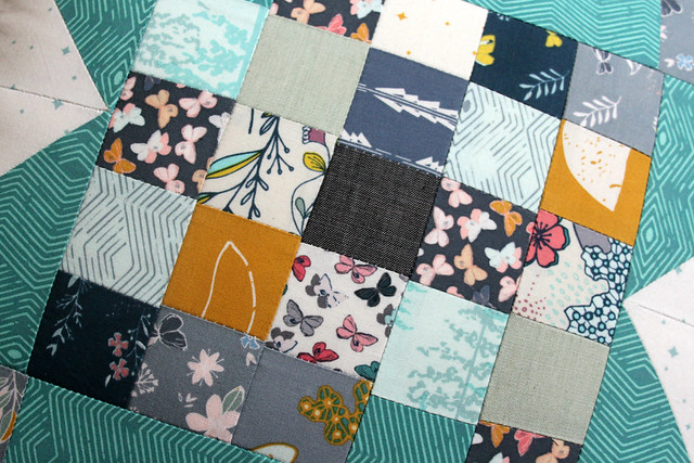 Tiny Nightfall Patchwork