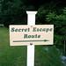 Secret Escape Route? by Morton Fox