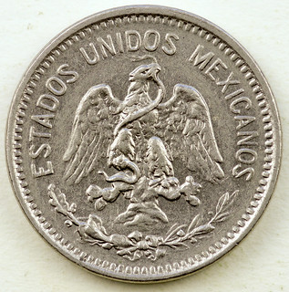 Coin photography - 1906 Mexico 5 cents