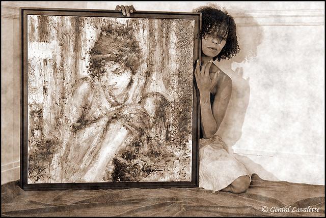 Portrait d'artiste.