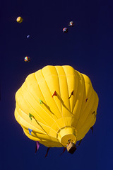 Yellow, Moon and Friends - Albuquerque International Balloon Fiesta - Sometime in the '80's