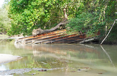 Collapsed Spring Creek Bridge on Unknown Road 1411021420