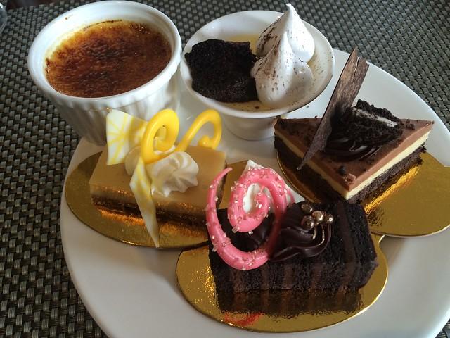 Dessert plate #2 - Seasons