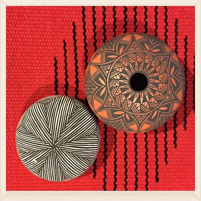 Acoma Pueblo Indian Pottery Art Trujillo Weaving Chimayo New Mexico IMG_5311x