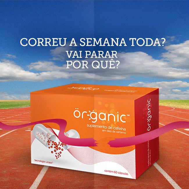 Or-ganic lança suplementos para quem quer ganhar energia e perder peso