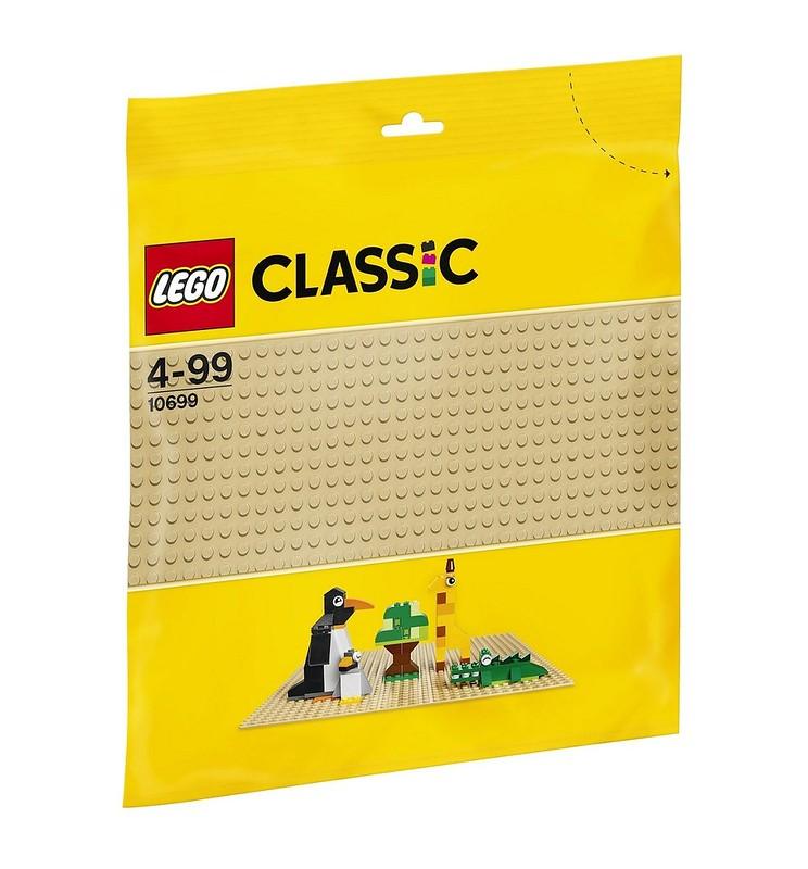 LEGO Classic 10699 - Sandfarbene Grundplatte