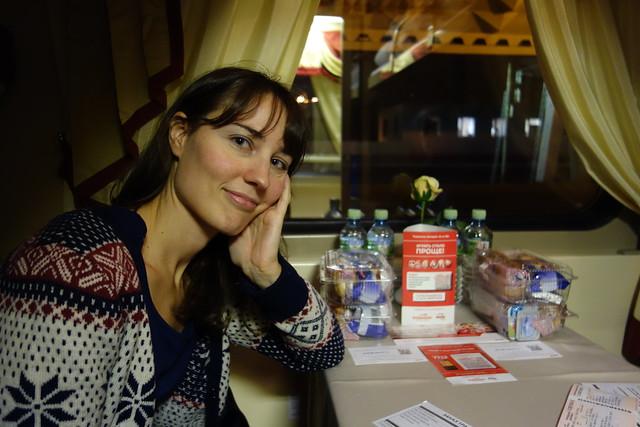 630 - En el tren Krasnaya Strela (Flecha Roja)