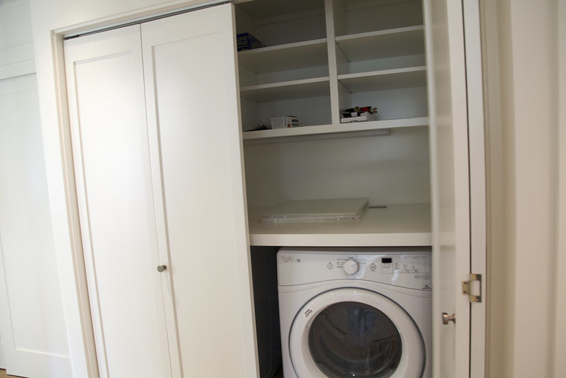 New Laundry Closet
