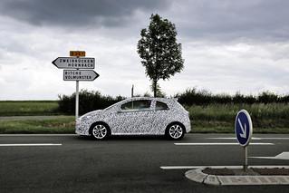 Opel Corsa E Tarnung