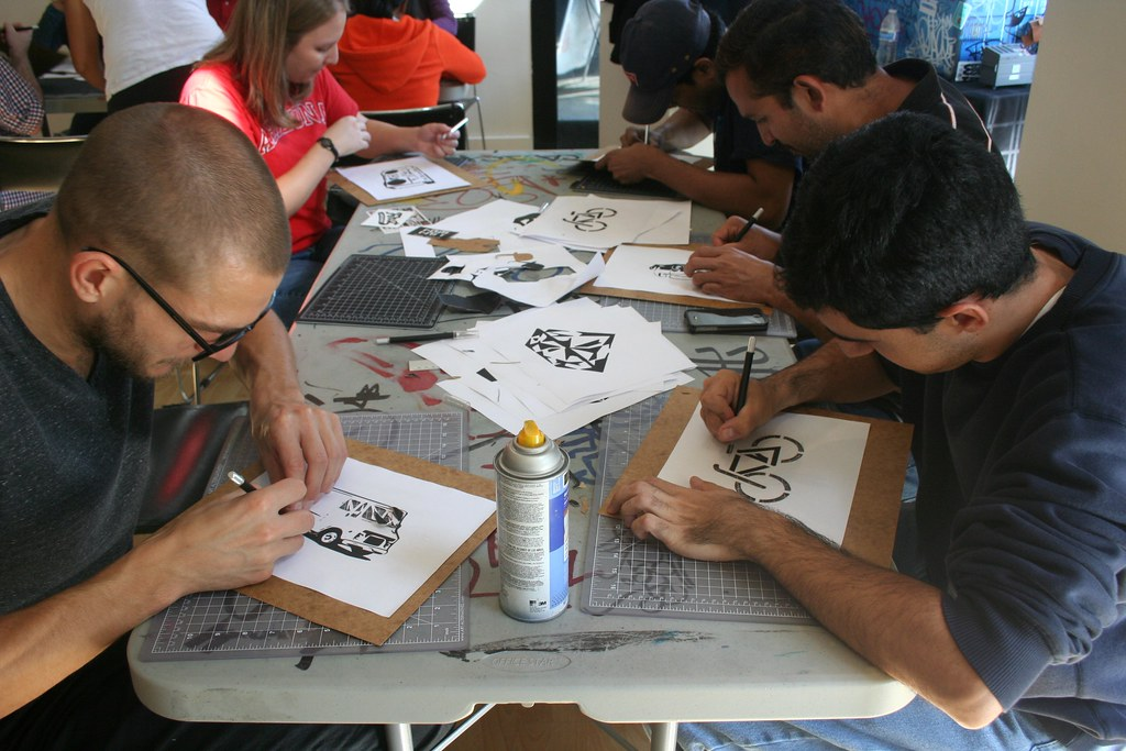 Cisco Street Art Workshop!